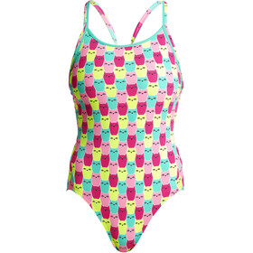 Funkita Diamond Back One Piece Swimsuit Women Minty Mittens